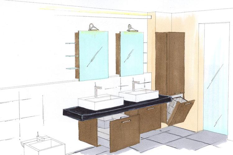 Umgestaltung for Bad entwerfen