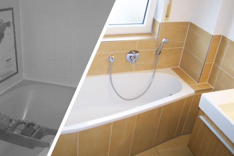 Kleine bader vorher nachher ihr traumhaus ideen for Kleine bader sanieren